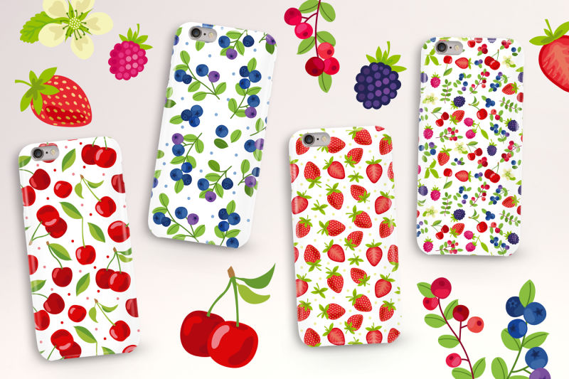 vector-berry-patterns