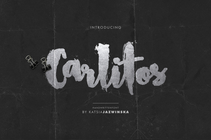 carlitos-grunge-script