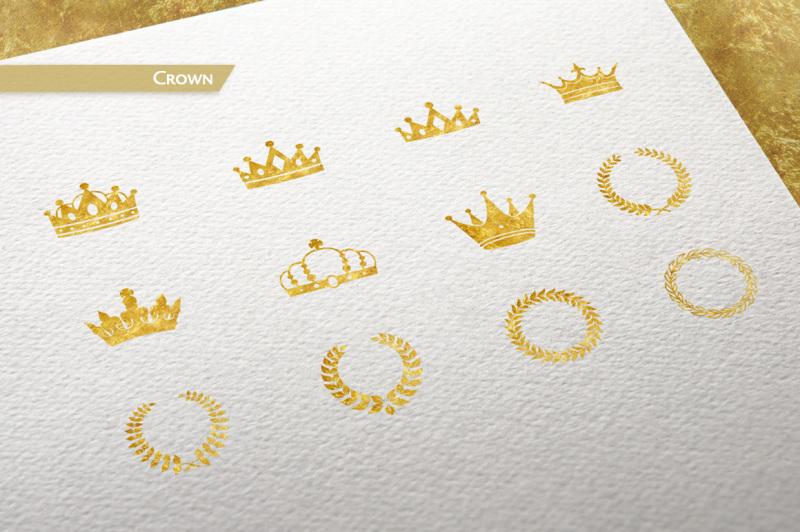 120-gold-foil-elements-free-bonus