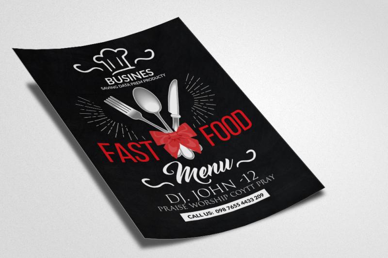 fast-food-resturant-flyer