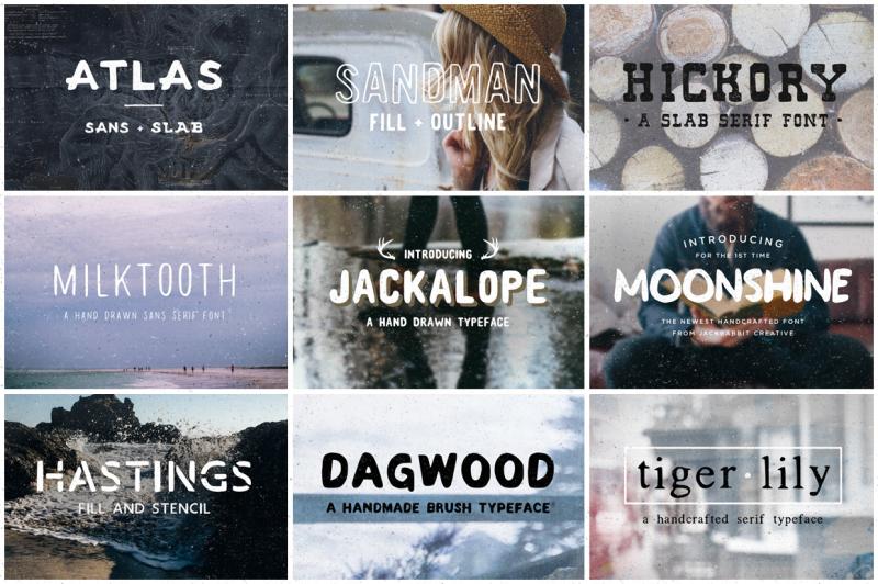 jackrabbit-font-mega-pack