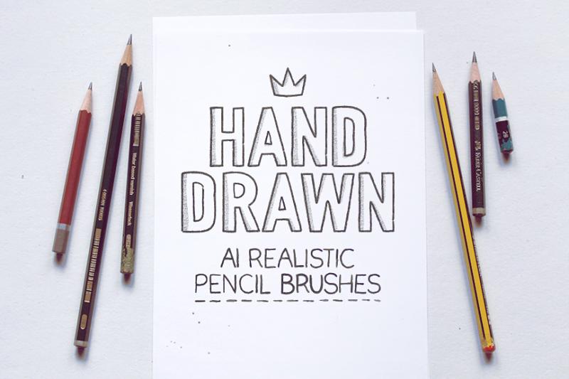 ai-realistic-pencil-brushes