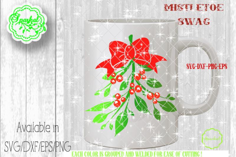 mistletoe-swag-cutting-design-svg-eps-dxf-png