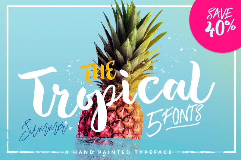 the-tropical-5-fonts