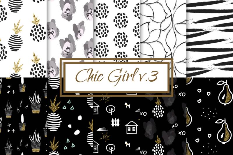 chic-girl-v-3-seamless-patterns