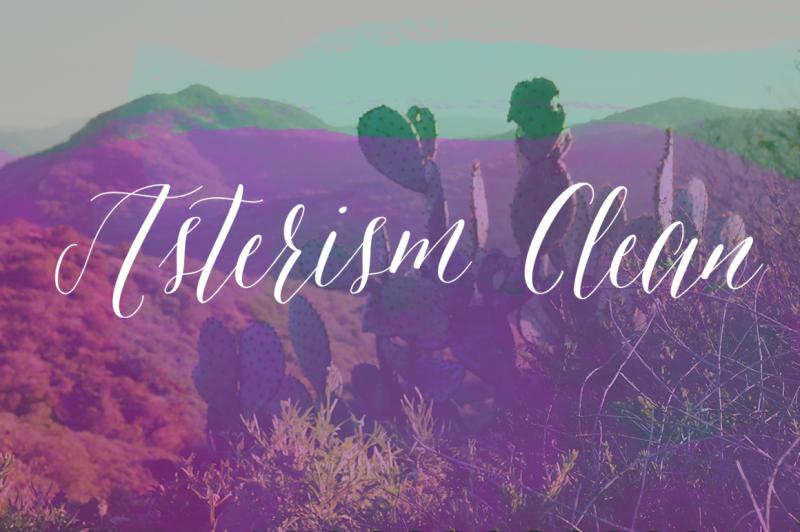 asterism-clean