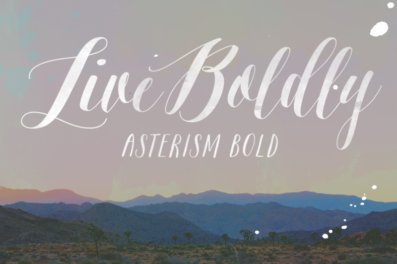 asterism-clean-bold