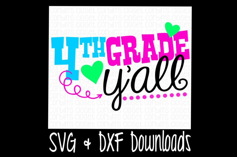 4th-grade-y-all-cutting-file