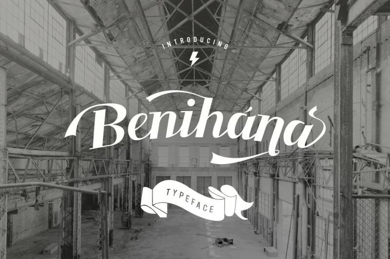 benihana-typeface