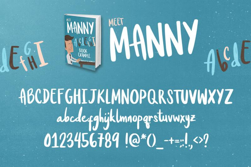 meet-manny-typeface