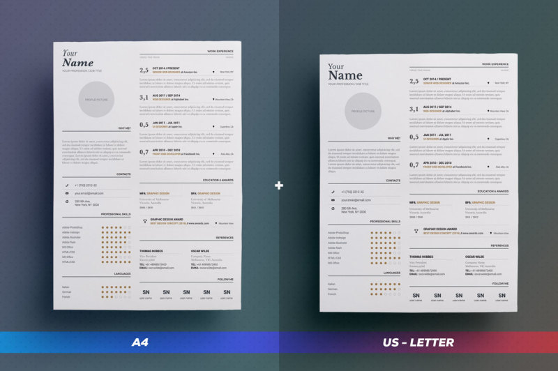 typographic-resume-cv-volume-1-indesign-word-template