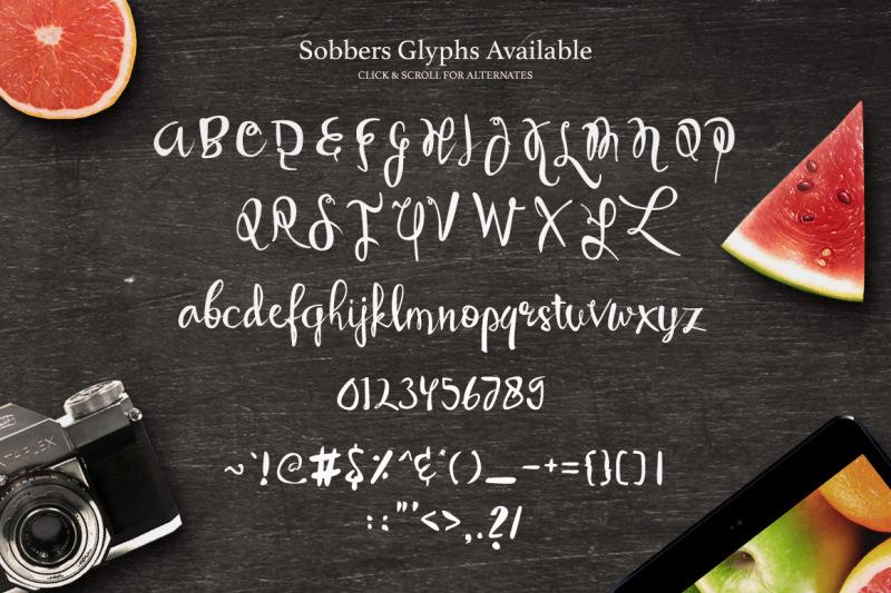 sobbers-typeface