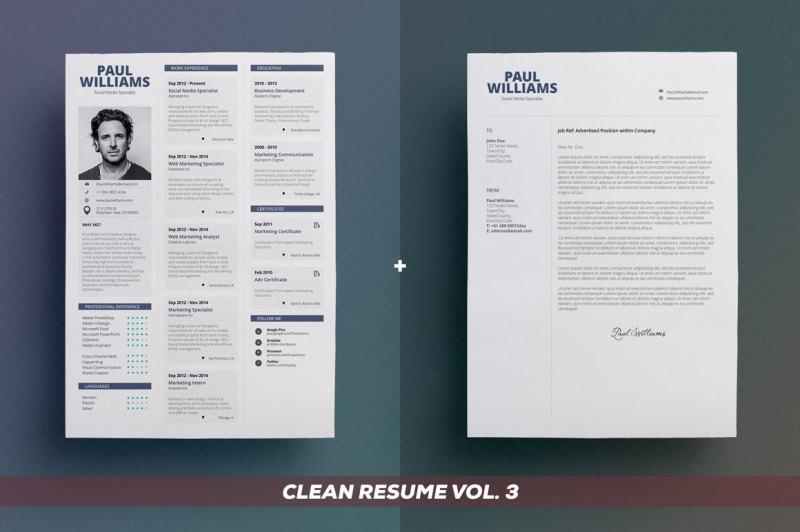 clean-resume-cv-bundle-edition-vol-1