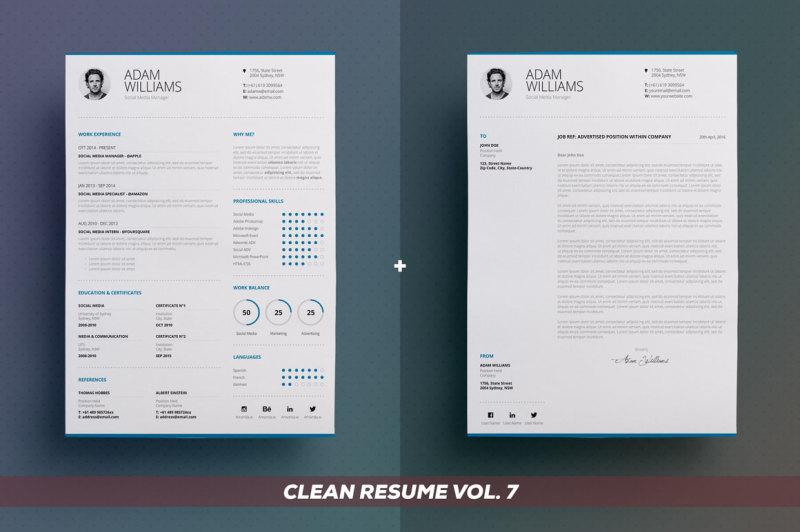clean-resume-cv-bundle-edition-vol-3