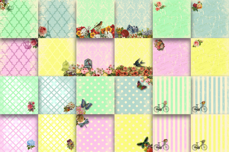 sassy-and-chic-digital-papers