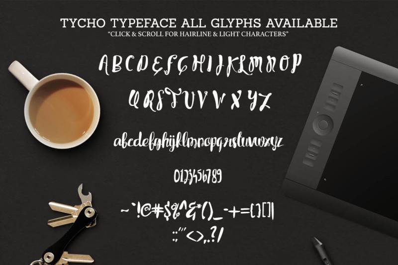 tycho-typeface