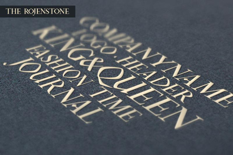 rojenstone-font