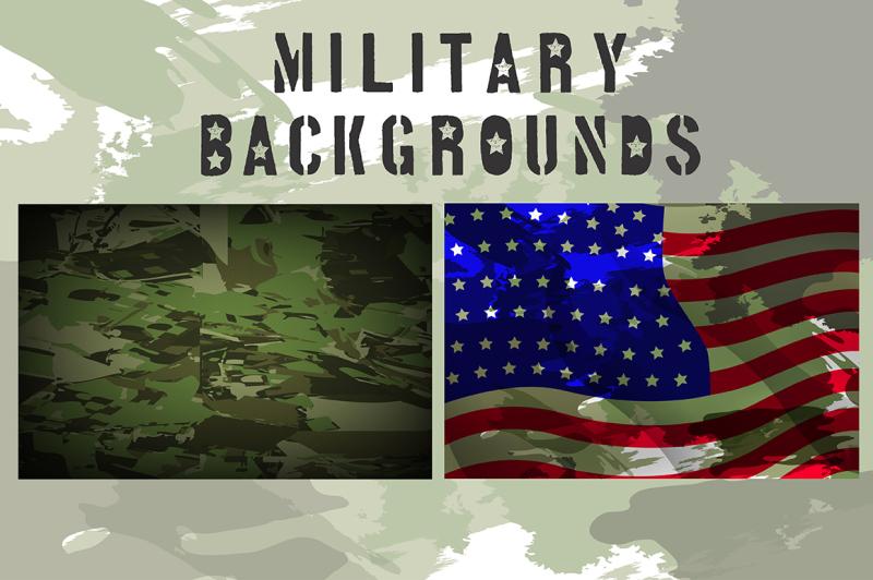 military-font