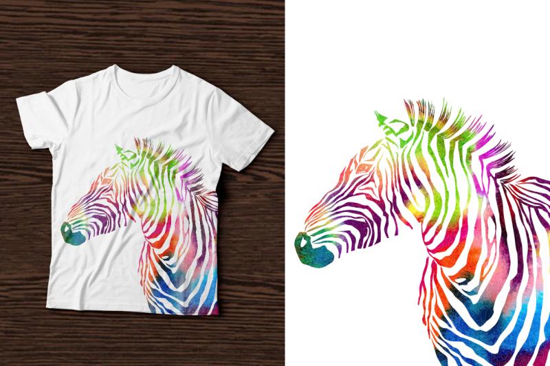 3-zebra-print-set