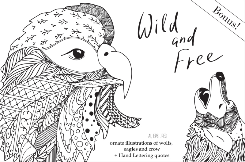 free-and-wild-doodling-collection