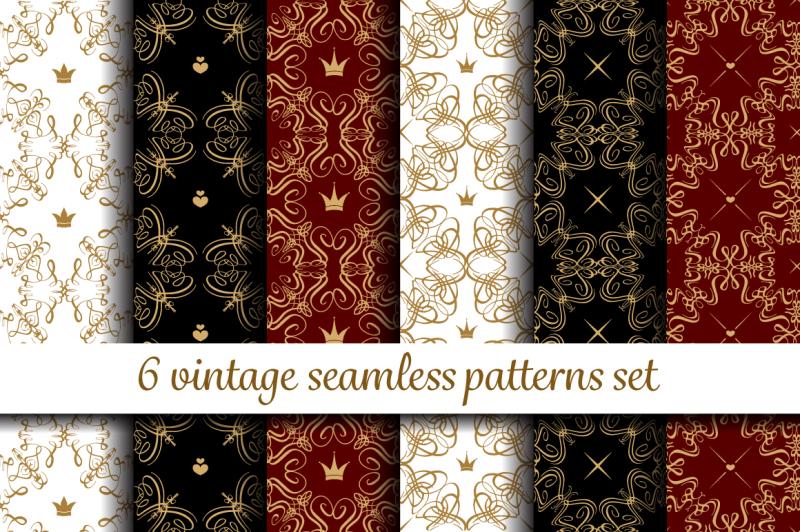 vintage-pattrtns-set