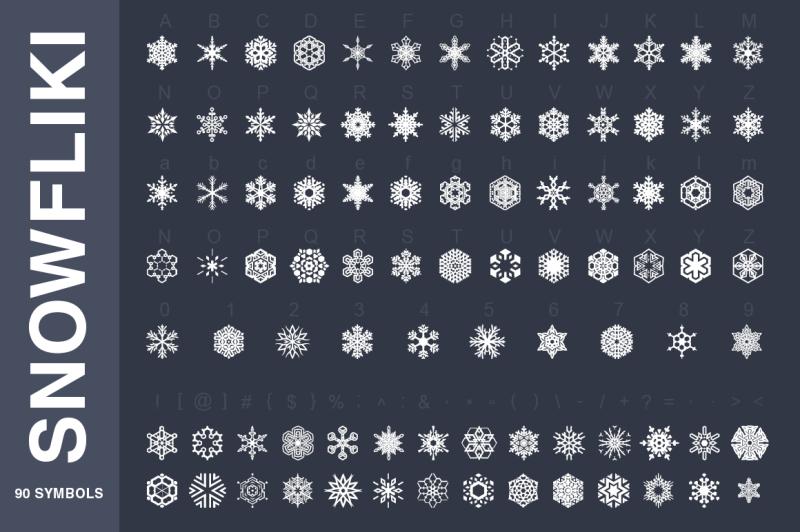symbols-font-collection-450-elements