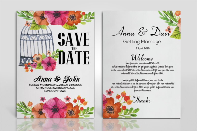 floral-invitation-cards-template
