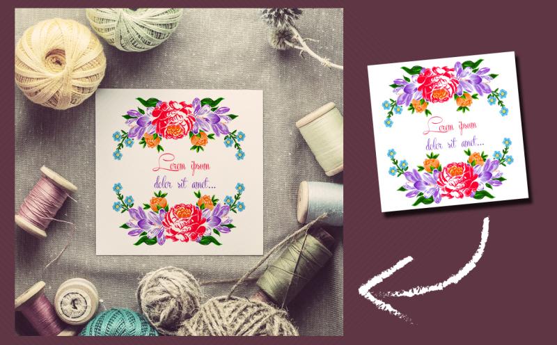 textile-flowers-set