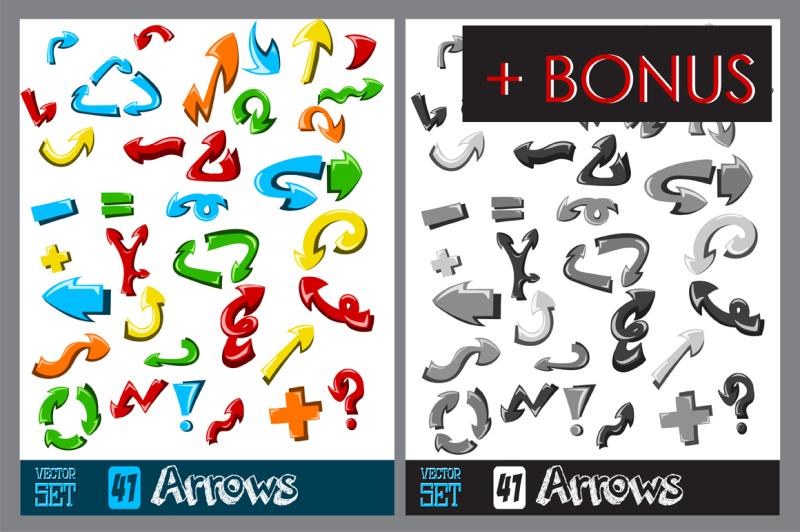 41-hand-made-arrows-set-vol-1