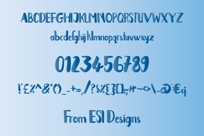 in-the-clouds-font