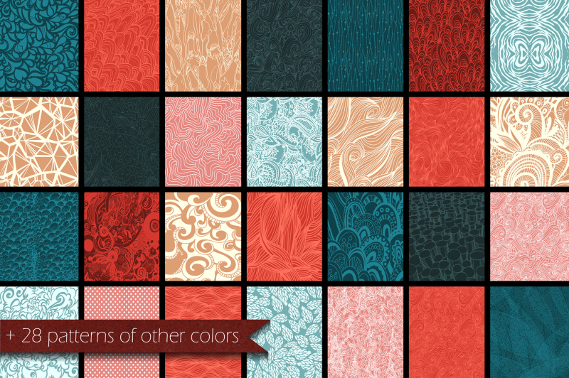 28-hand-drawn-patterns-with-mesh-effect