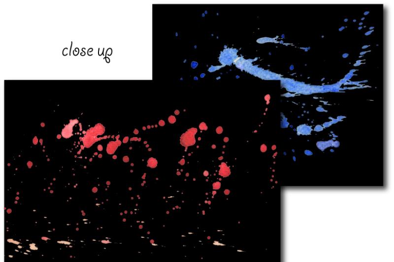 watercolor-paint-splatter-patterns