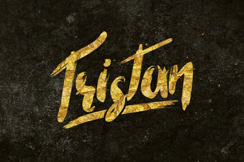 tristan-brush-font-bonus