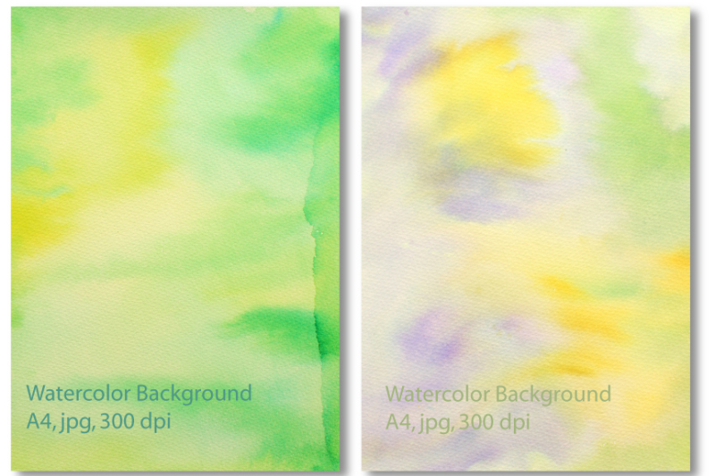 watercolor-background-green-yellow