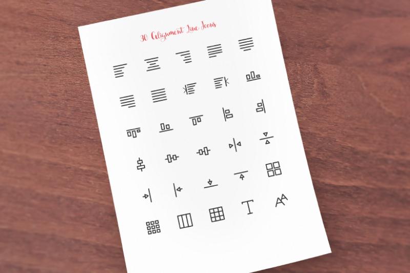 alignment-line-icons-sharpicons