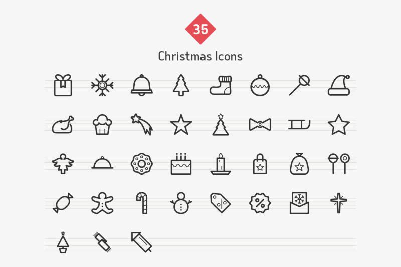 christmas-line-icons-sharpicons
