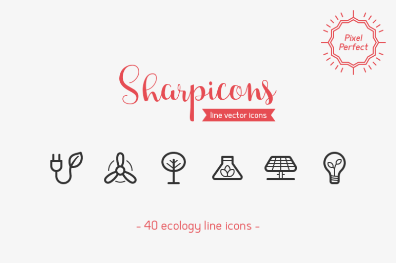 ecology-line-icons-sharpicons