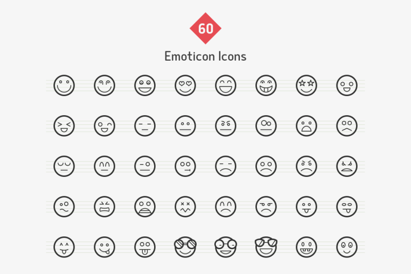 emoticons-line-icons-sharpicons