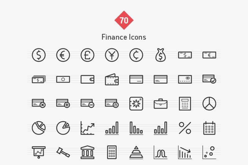 finance-line-icons-sharpicons
