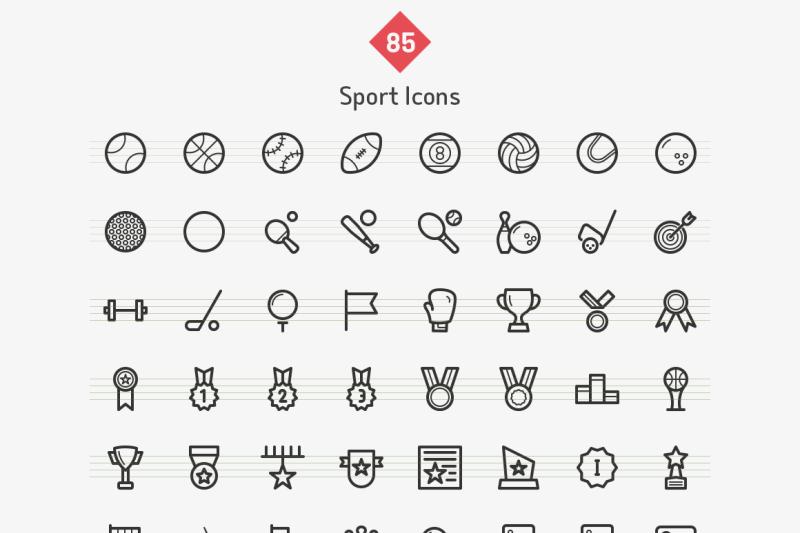 sport-line-icons-sharpicons