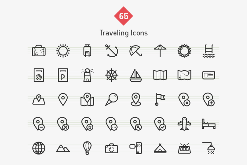 traveling-line-icons-sharpicons