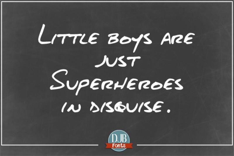 djb-about-a-boy-font