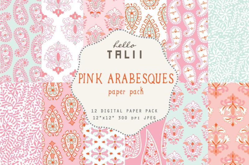 pink-arabesques