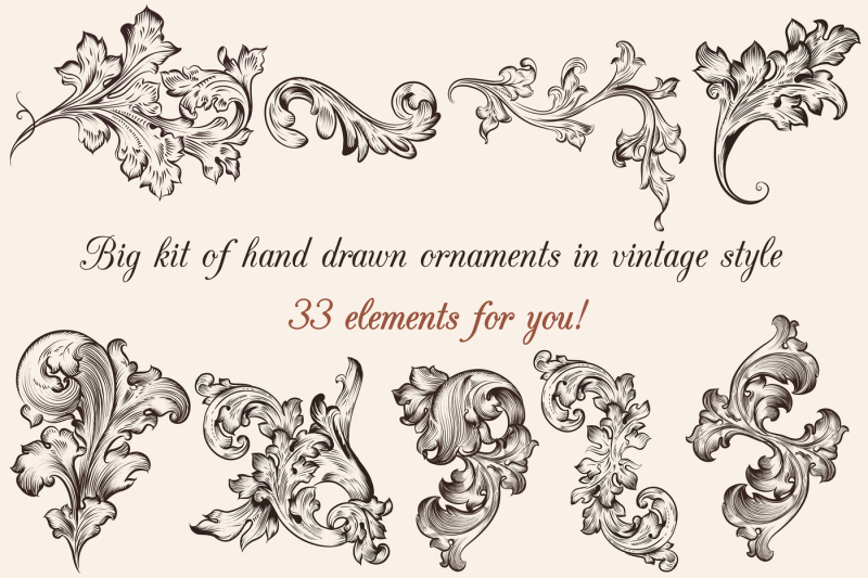 big-set-of-engraved-ornaments