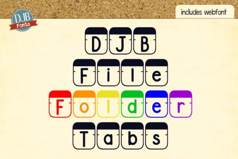 djb-file-folder-tabs-font