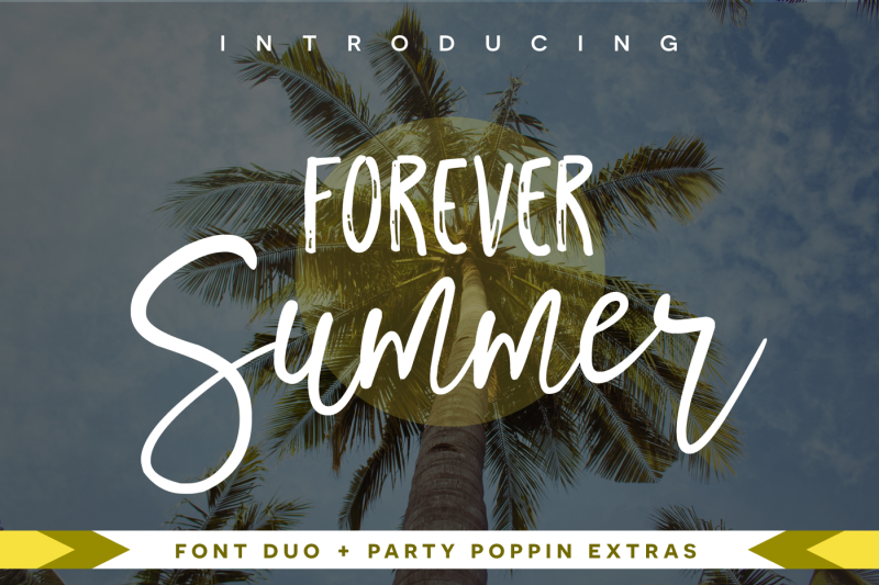 forever-summer-font-duo