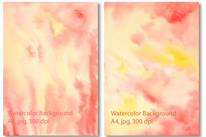 yellow-orange-watercolor-background-texture