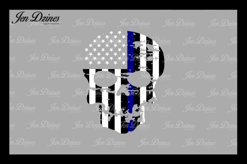 blue-line-distressed-skull-svg-dxf-eps-png
