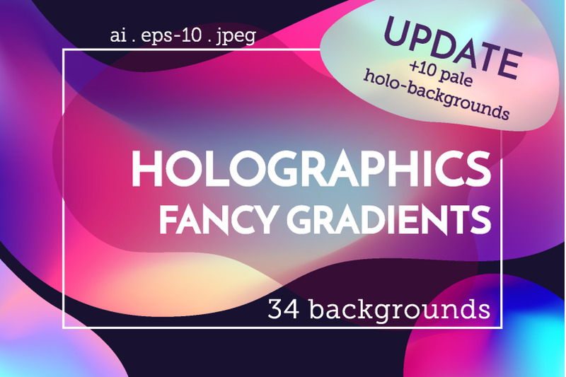 holographic-backgrounds-set