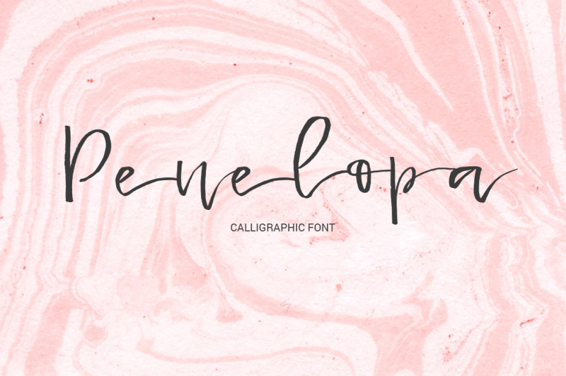 penelopa-gentle-calligraphic-font